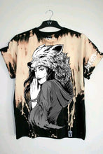 "Load image into Gallery viewer, Dark Arts - ""NEVER UNDERESTIMATE ME TEE"" (Free Bleach Wolf Shirt Included) - thedarkarts"