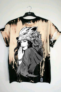 "Dark Arts - ""NEVER UNDERESTIMATE ME TEE"" (Free Bleach Wolf Shirt Included) - thedarkarts"