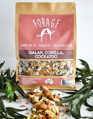 FORAGE COCKATOO, GALAH & CORELLA 1.75KG