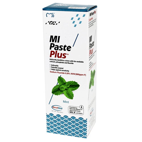 Buy MI Paste Plus with Recaldent 40 Gram Mint by GC America - Mi Paste Store
