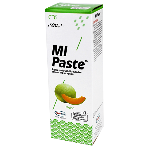 Buy MI Paste Melon Flavor with Recaldent 40 Gram Tube by GC America - Mi Paste Store
