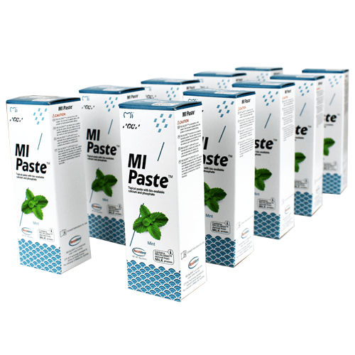 Buy 10-Pack MI Paste Mint Flavor with Calcium and Phosphate by GC America - Mi Paste Store