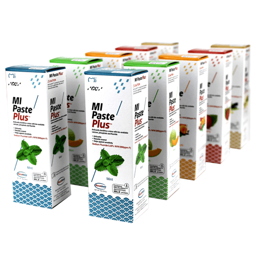 Buy 10-Pack MI Paste Plus Variety Pack, 5 Flavors by GC America - Mi Paste Store