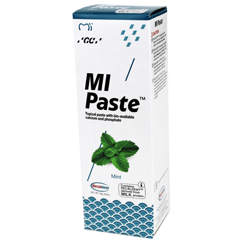 Buy MI Paste with Recaldent 40 Gram Tube Mint Flavor by GC America - Mi Paste Store