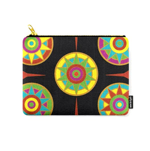 Medallions 3 © Zippered Pouch