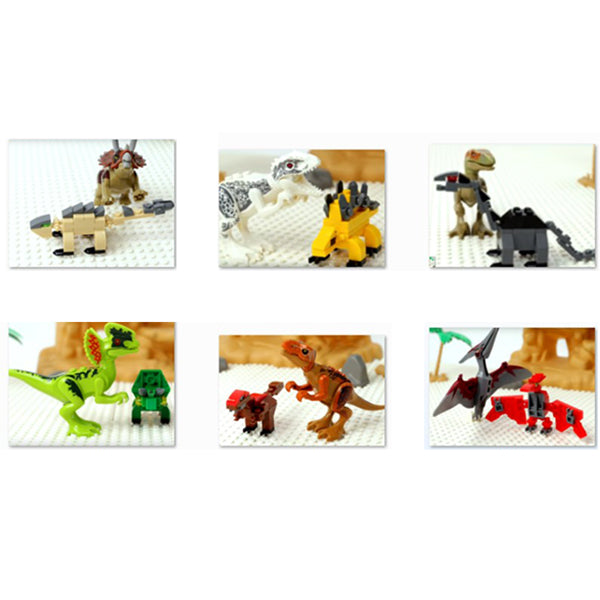 Dinosaurs Block Building and Dinosaurs  Lego