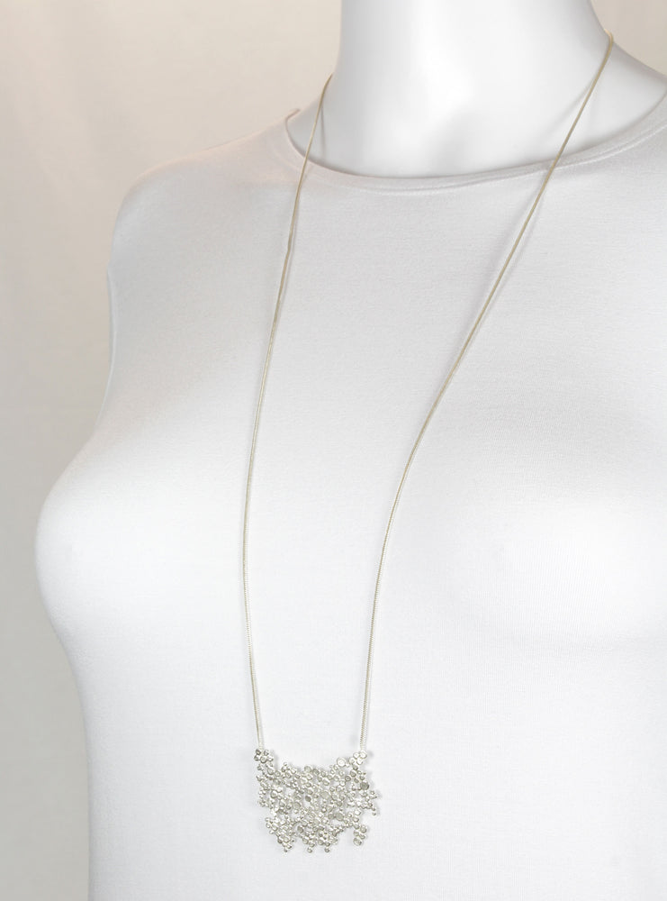 Necklace, silver