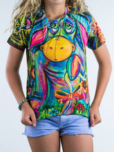 Load image into Gallery viewer, Colorful Donkey Design Kids Tee