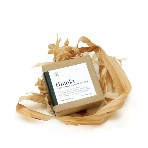 Hinoki Goat's Milk Cleansing Bar 5 oz