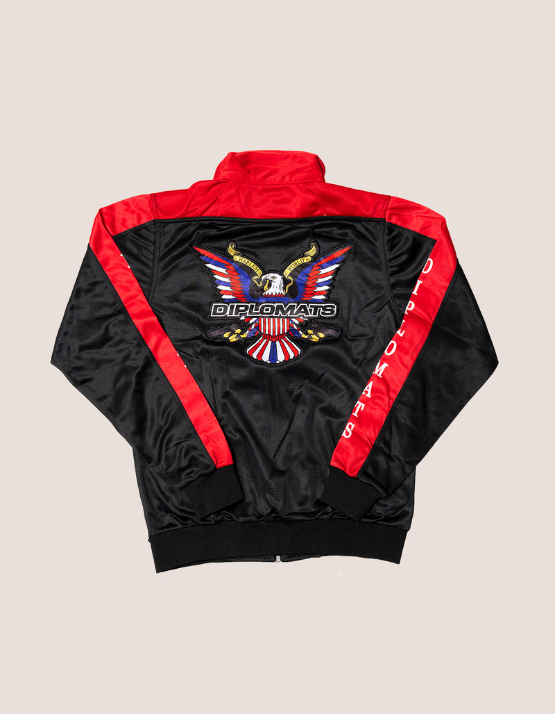 DIPSET Couture Black/Red Classic Track Suit - DIPSET COUTURE