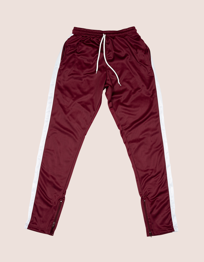 BURGUNDY DIPSET WHITE 97 TrackSuit - DIPSET COUTURE