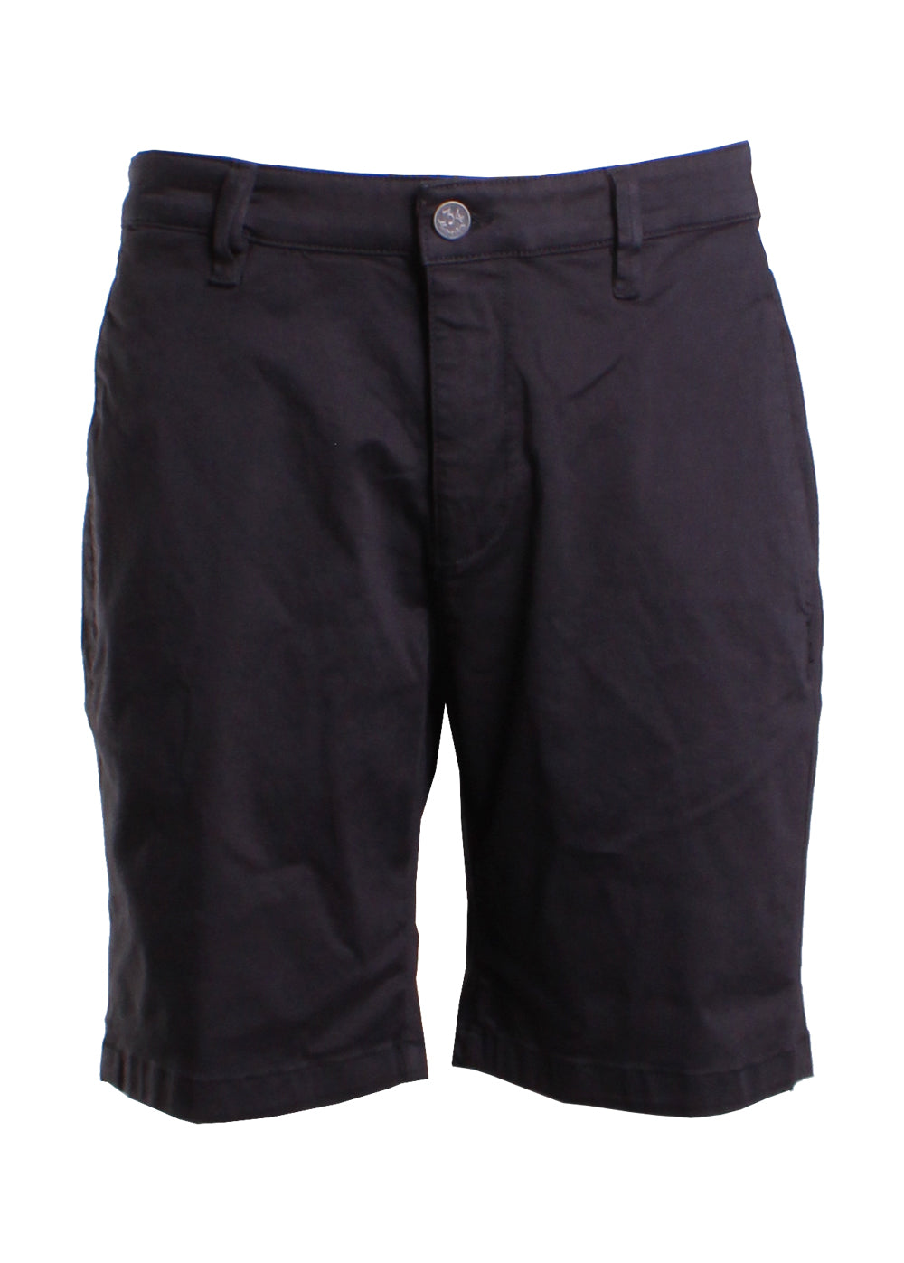 34 Heritage Nevada Shorts in Black Twill