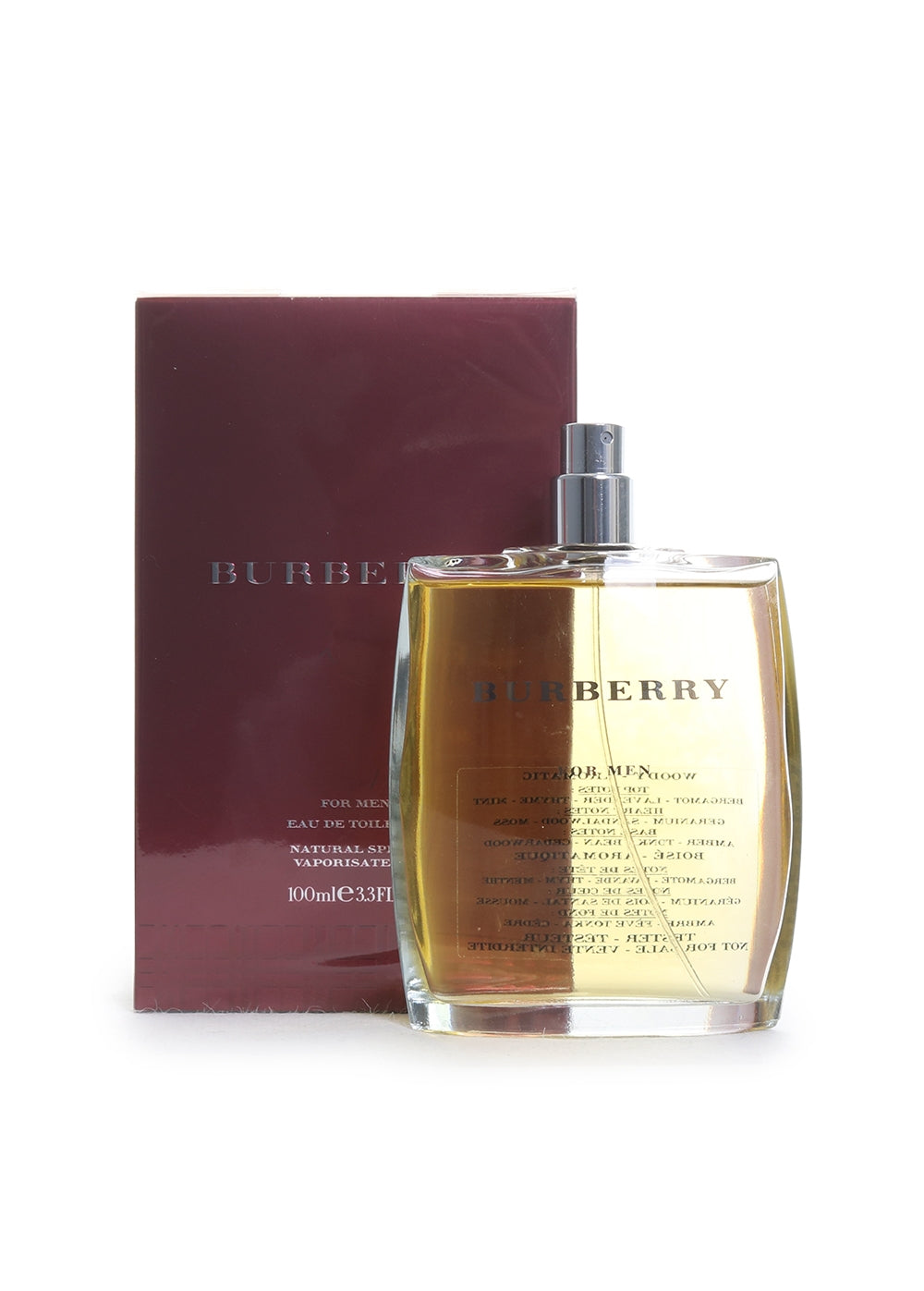 Burberry Classic Men's Eau De Toilette Cologne