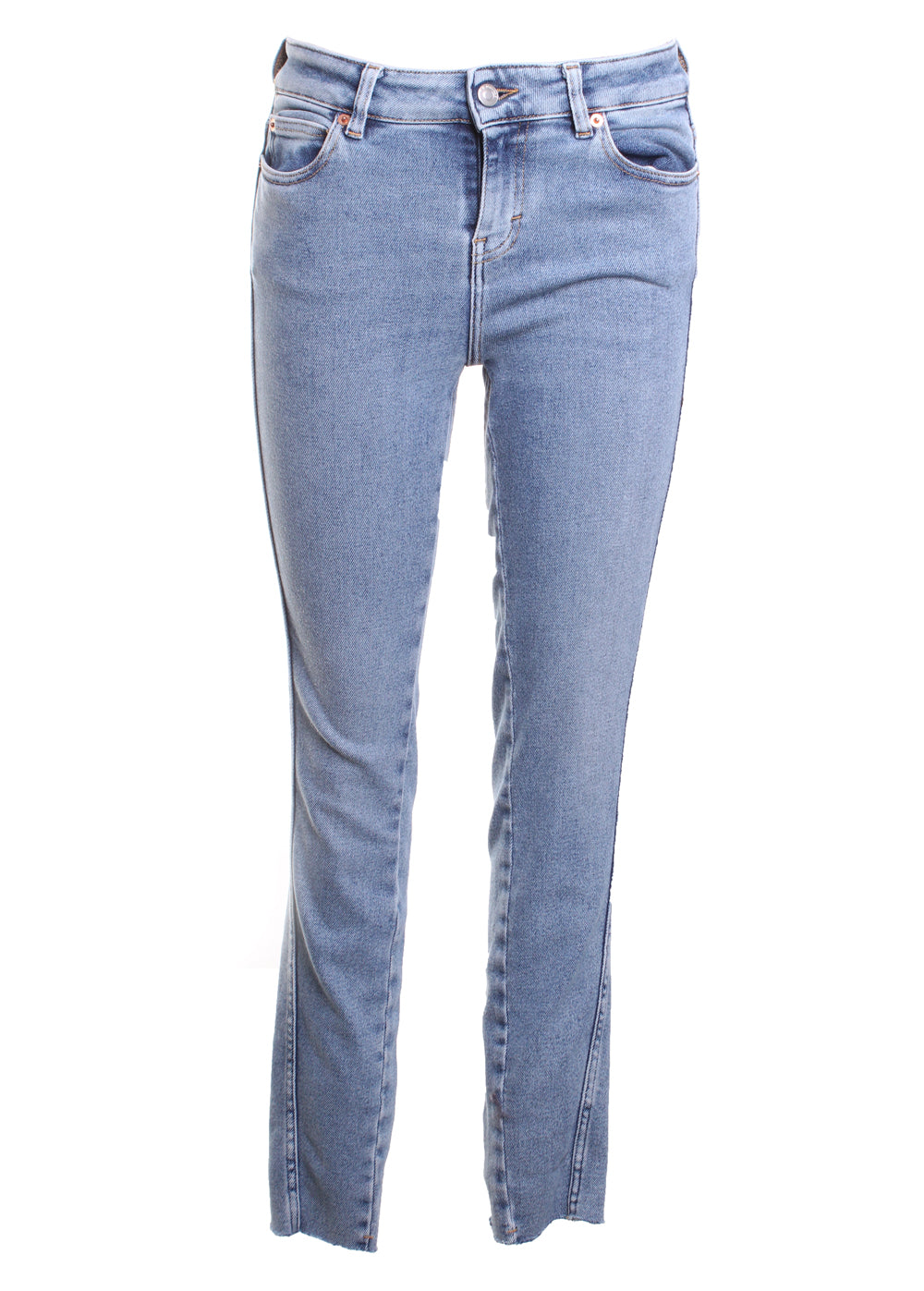 Fragile Denim Skinny Jeans in Light Denim