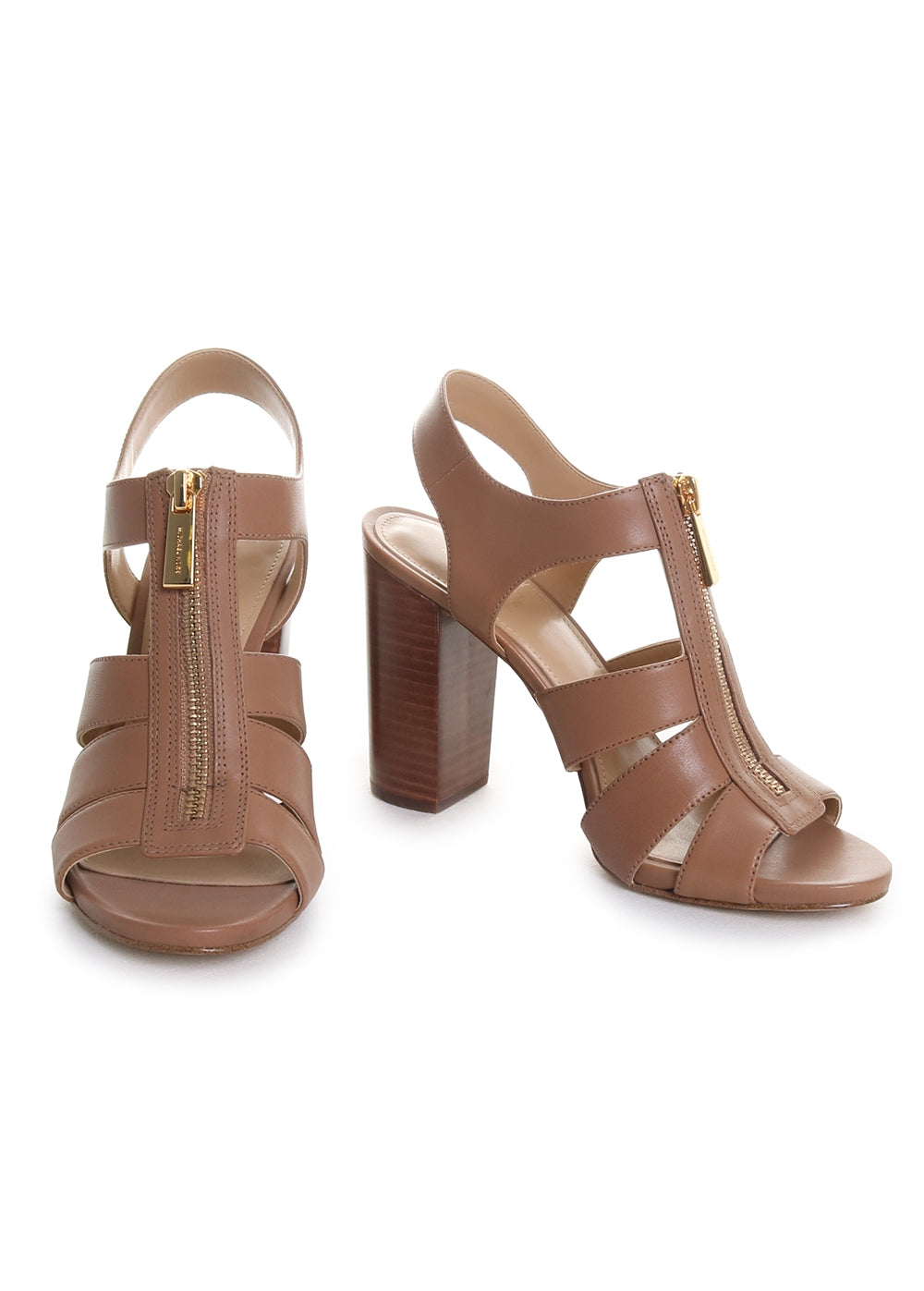 Damita Leather Heeled Sandals