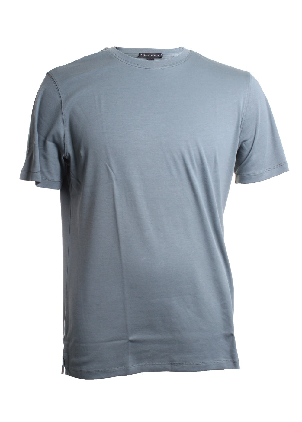 Short Sleeve Crew Neck Cotton Tee Shirt