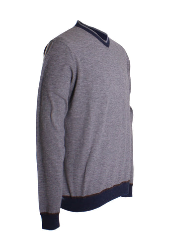 Halfmoon V-Neck Sweater