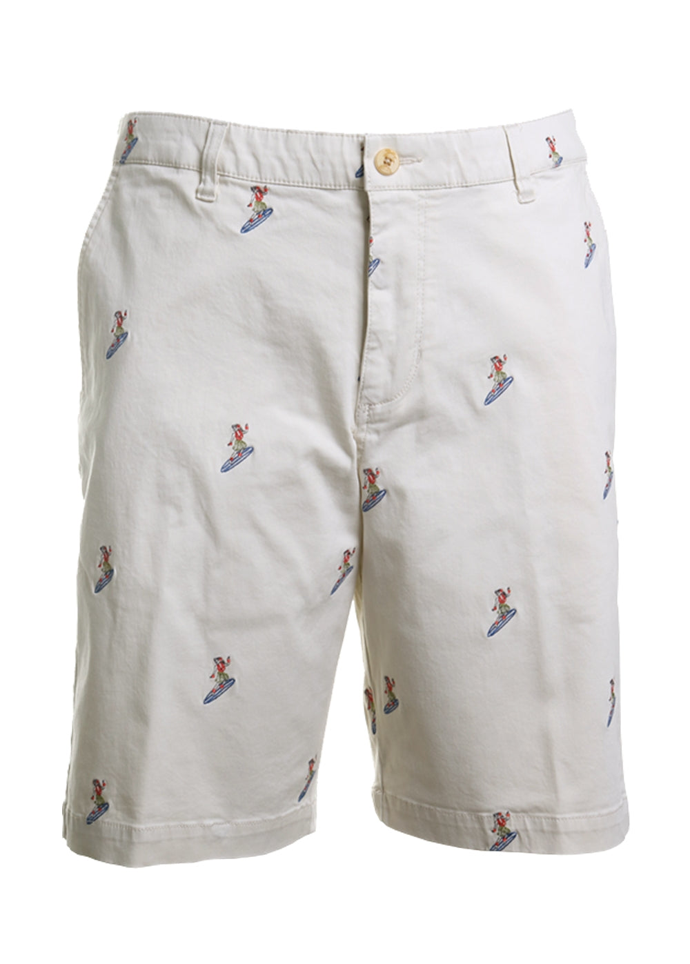Tommy Bahama Hula Surfin' Stretch Sateen Shorts in Bleached