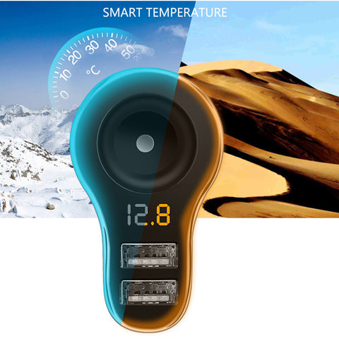 3.1A Dual USB Car Charger - Fast Charge 12-24V - Paradisegadgets.com