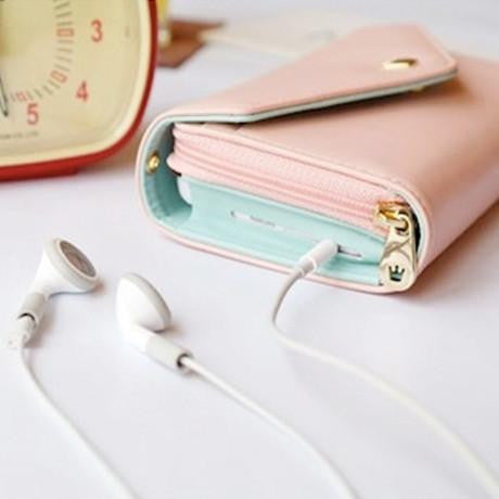 3-in-1 Stylish Smartphone Wallet Purse & Wristlet - Paradisegadgets.com