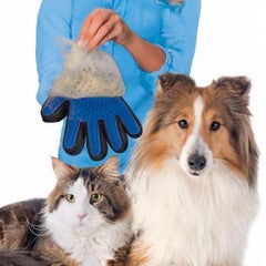 Magical Pet Touch Grooming Gloves - Paradisegadgets.com