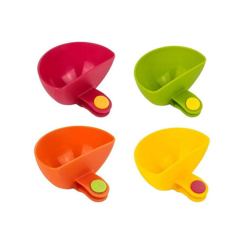 4X Dipzy Clips - Dipping Sauce Holders - Paradisegadgets.com