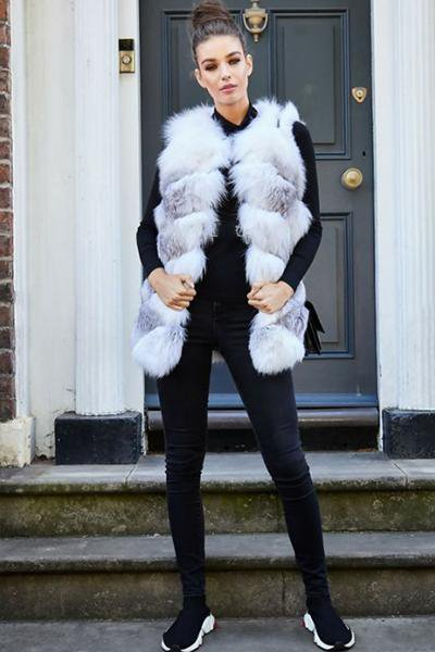 Loose Soft Long Faux Fur Vest