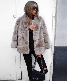 Mid-length Fur Coats