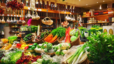 Shop for groceries and vegetable