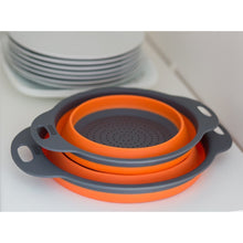 Load image into Gallery viewer, Collapsible Colander Orange
