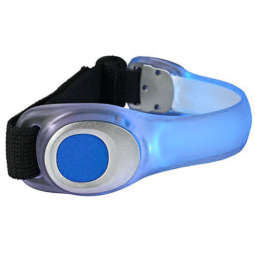 Flashing LED Armband - Blue