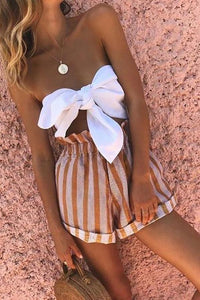 Bandeau Chest Tie Set