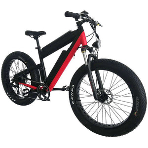 "AddMotor MOTAN M-B2 26"" Front Suspension Fat Tire Electric BikeMountain Electric BikeAddMotorRelax And Ride Bikes"