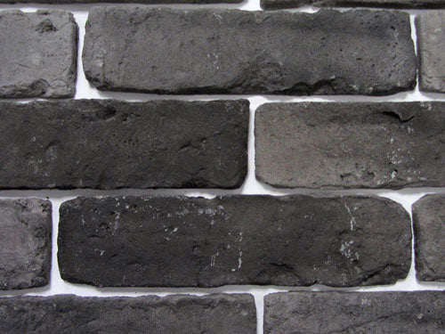 Old Graphite Brick Slips Zoomed View 1