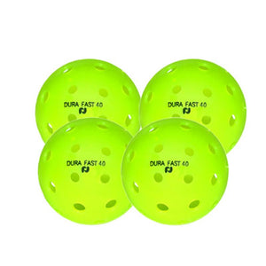 Dura Fast 40 Outdoor Pickleball - 4 Pack