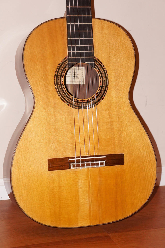 Domingo Esteso 1932 Spruce Top Classical Guitar