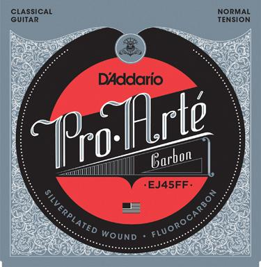 D'Addario EJ45FF Pro Arte Dynacore/Carbon Normal Tension Classical Guitar Strings