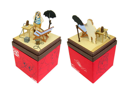 Miniatuart | Porco Rosso : Porco's hideout by Sankei - Bento&con the Bento Boxes specialist from Kyoto