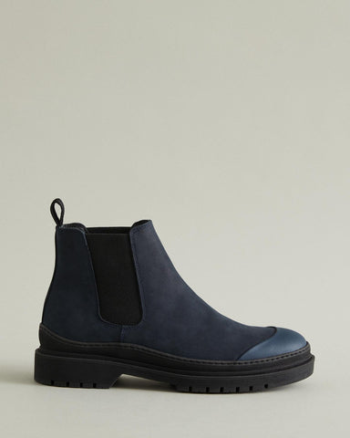 wellington nubuck chelsea boot