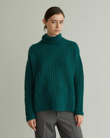 mohair turtleneck sweater