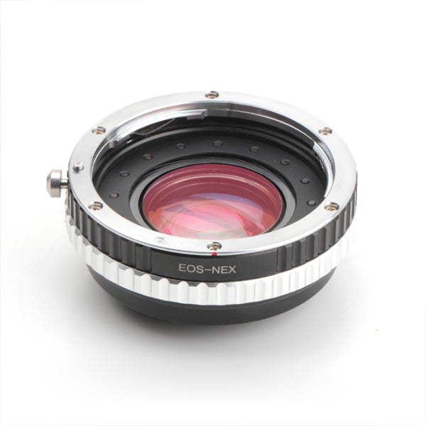 EF-Sony E Aperture Control Speed Booster Focal Reducer Adapter
