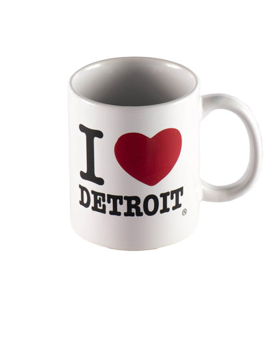 I Love Detroit Coffee Mug