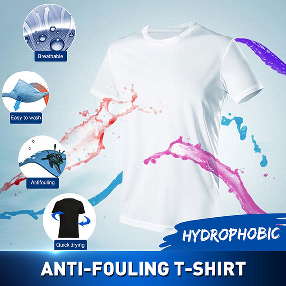 Anti-Dirty Waterproof Quick Dry T Shirt-Best T shirt for summer
