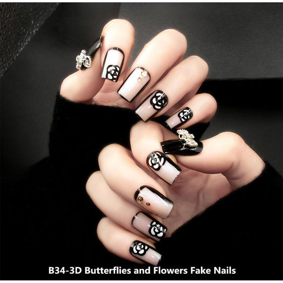 Attractive and Beautiful Fake Nails