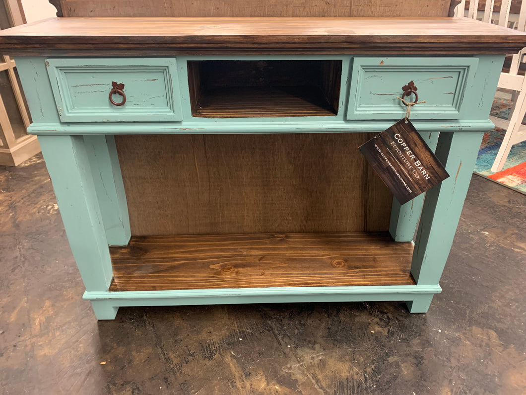 Emily Turquoise Small Console Table