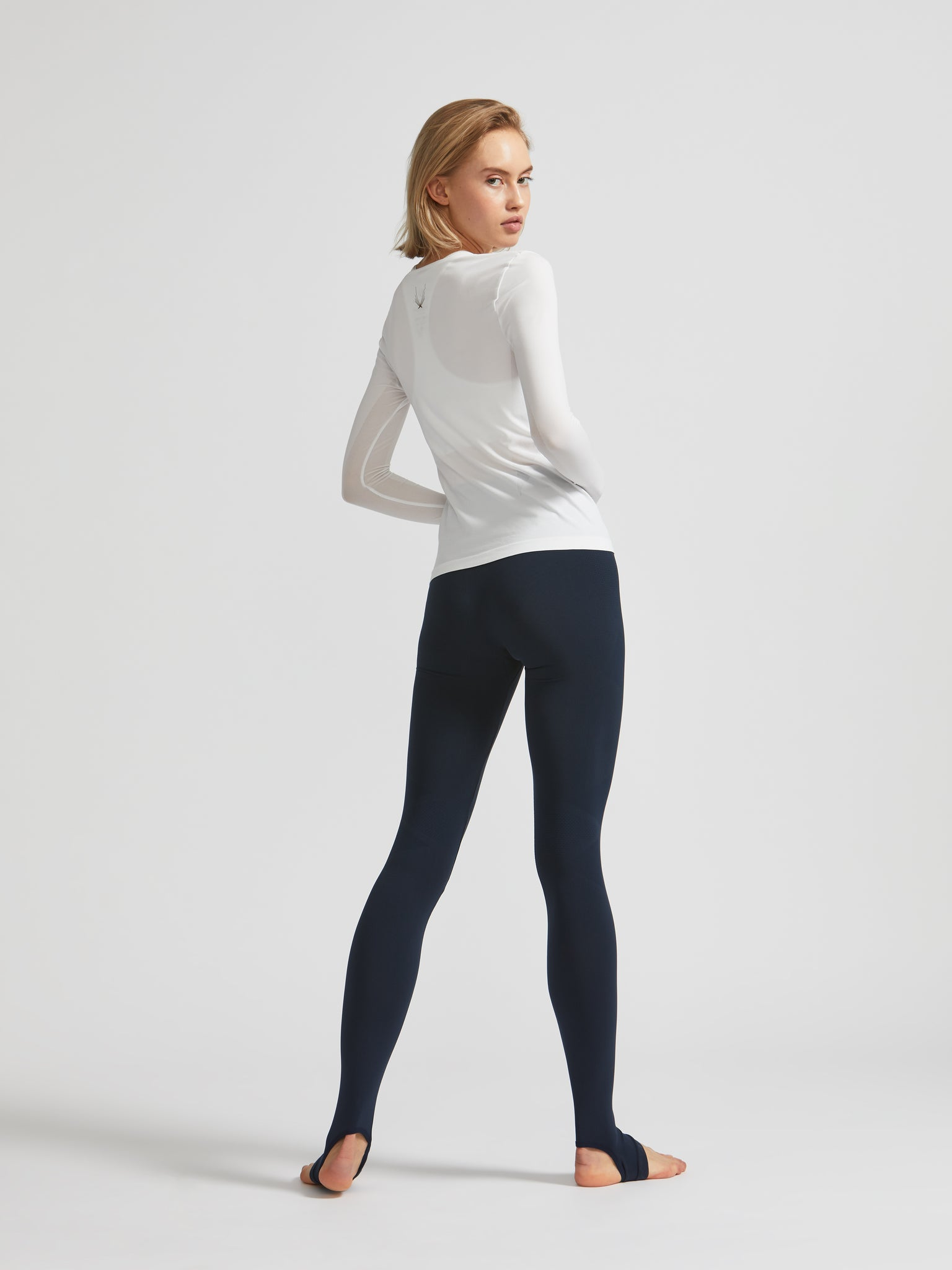 Technical Knit Long Sleeve Top
