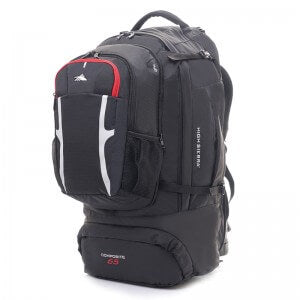 High sierra composite backpack with daypack