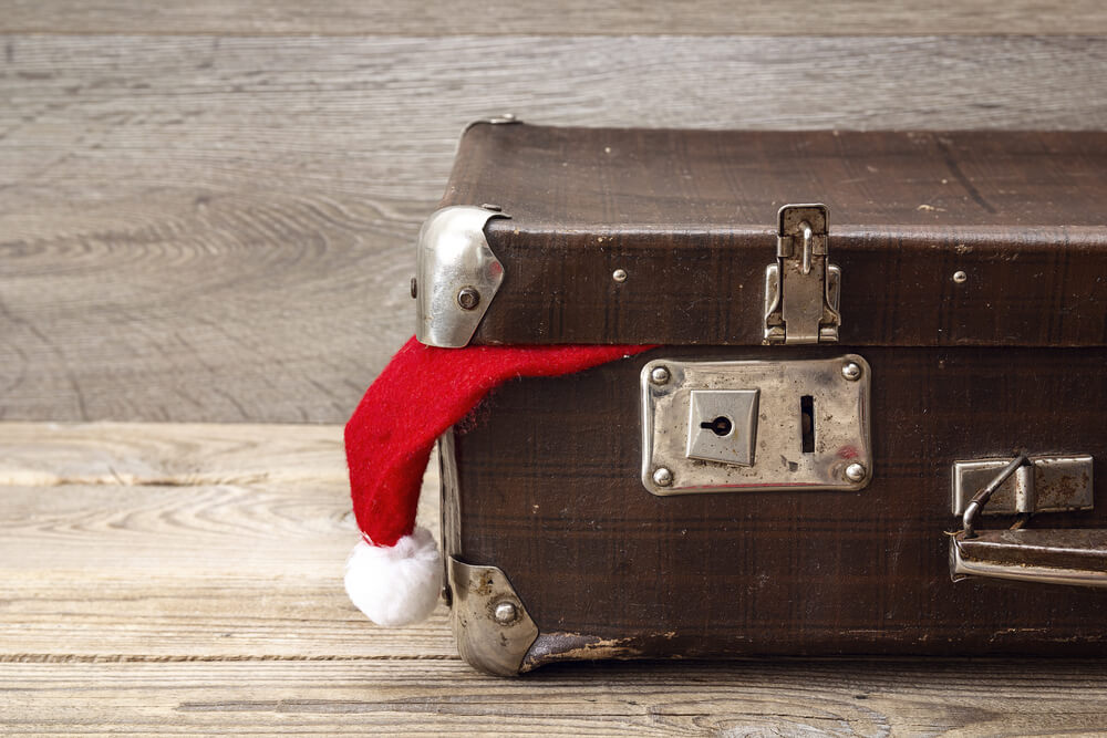 christmas gifts in baggage