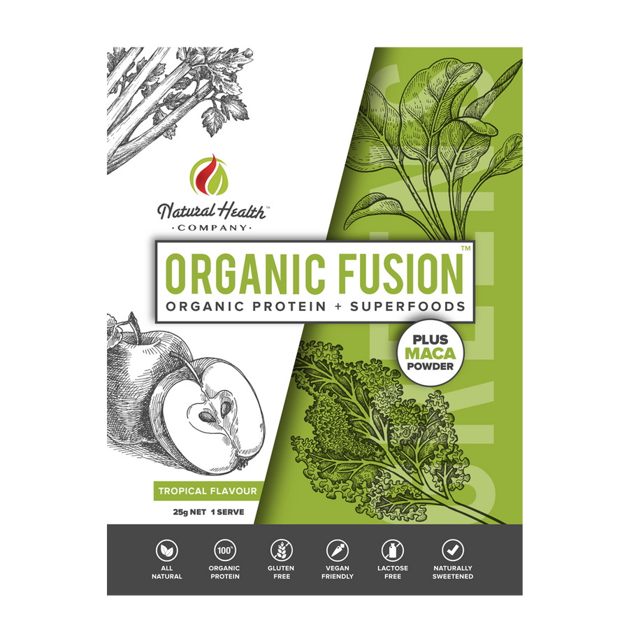 Organic Fusion Tropical Greens Single Serve