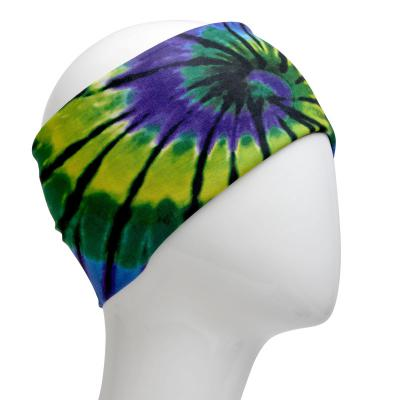 Infinity Purple Green Bandana